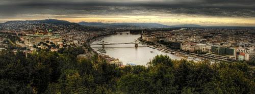 View of Budapest. Vista de Budapest