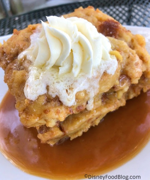 Toffee Bread Pudding at House of Blues