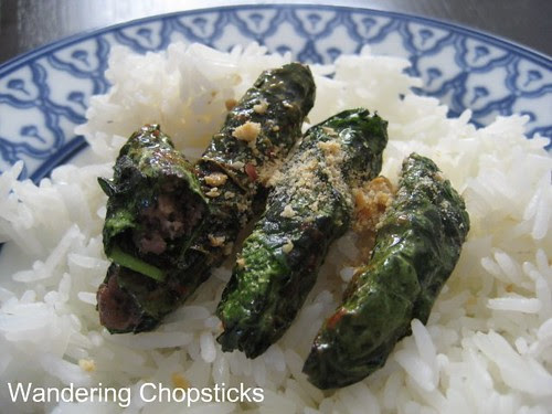 Bo Nuong La Tia To Dai Han (Vietnamese Grilled Beef with Korean Perilla Leaves) 1