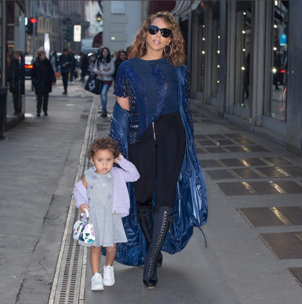 Marjorie Harvey's Granddaughter Rose Steals The Show At ...