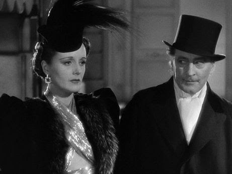 John Barrymore and Mary Astor in Midnight