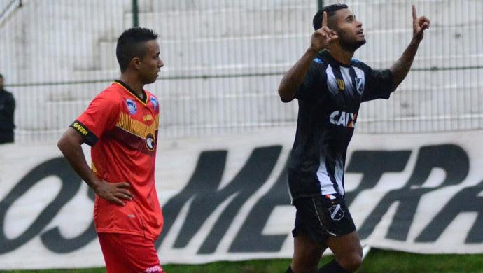 Kayke - atacante do ABC (Foto: Frankie Marcone/Divulgação/ABC)