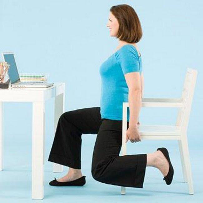 упражнение за рабочем столом
