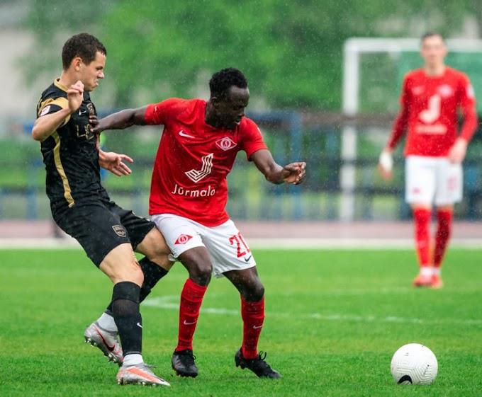 Ogunniyi Omojesu Makes Team Of The Week In Latvia