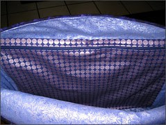 Purple Tote Bag, inside