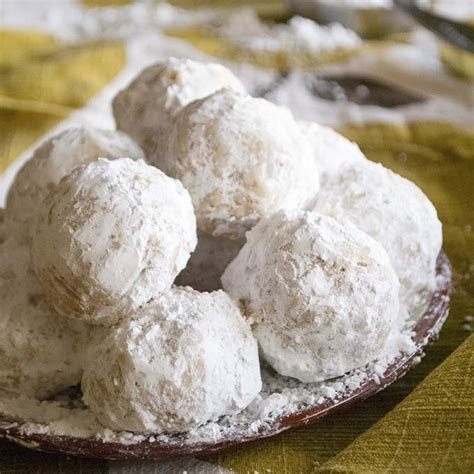 Must make walnut snowball cookies or mexican wedding cake