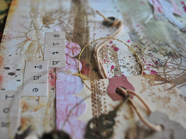 layers paper and stamping
