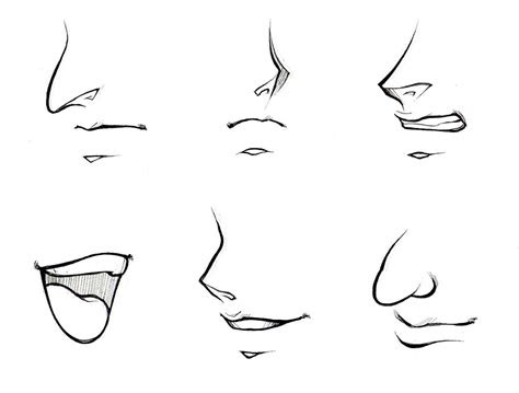 draw noses  mouths manga university campus store