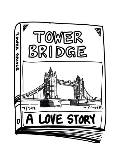 Tower Bridge, a love story by douglaswittnebel