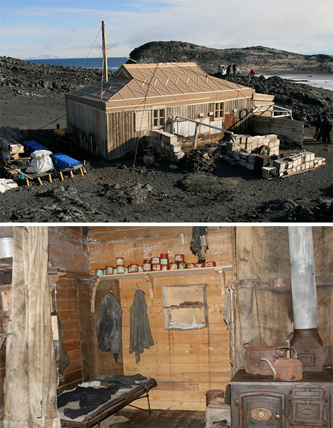 Abandoned Antarctica Grytviken Shackleton's Hut