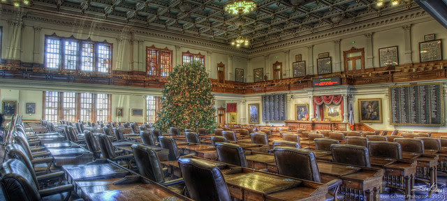 Texas House With Tree Panorama