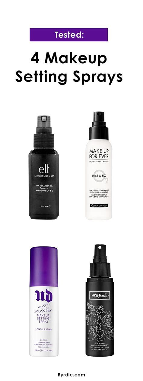 25  best ideas about Makeup setting spray on Pinterest