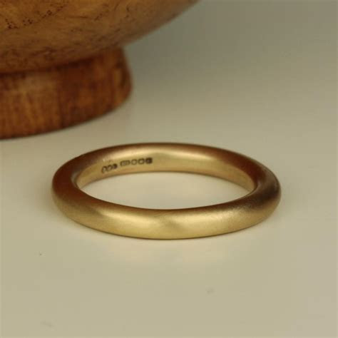 Men thick Gold Halo Wedding Ring Band   pretty wild jewellery