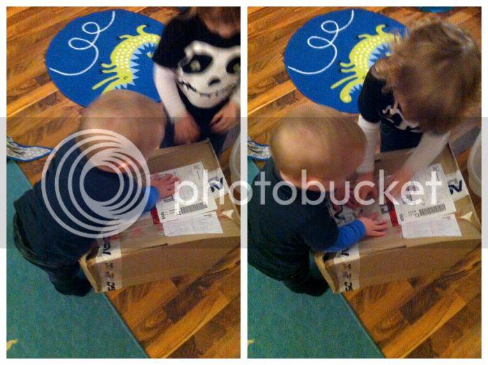 Paket auspacken