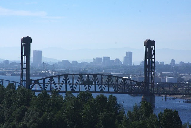 View from St. Johns Bridge