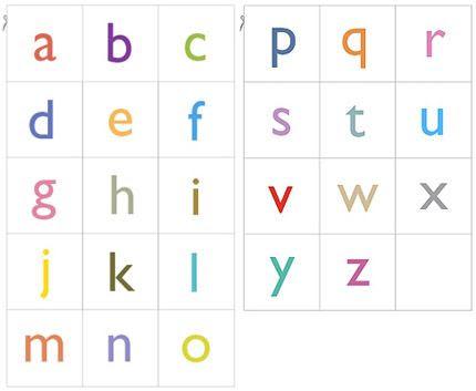 1000+ ideas about Alphabet Cards on Pinterest | Preschool literacy ...