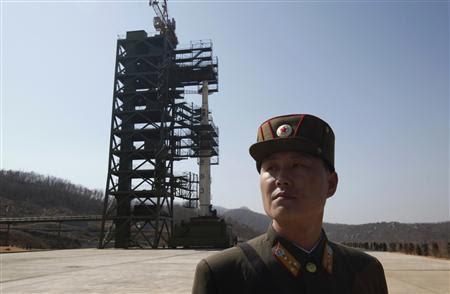 North Korea Atomic Rocket Launch