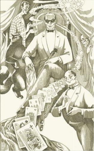 """Illustrations for the novel by Mikhail Bulgakov's """"Master and Margarita"""""""