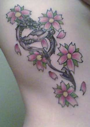 Cherry Blossoms And A Dragon Tattoo