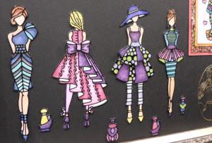 Elizabeth Craft Stickers girls