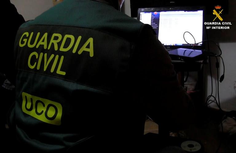 La Guardia Civil detiene en España a 18 personas por tenencia y distribución en Internet de material con abusos y explotación sexual infantil