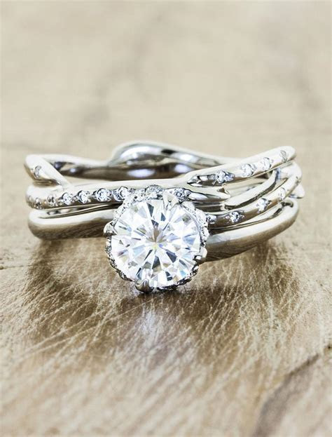 Novella Diamond: Unique nature inspired engagement ring