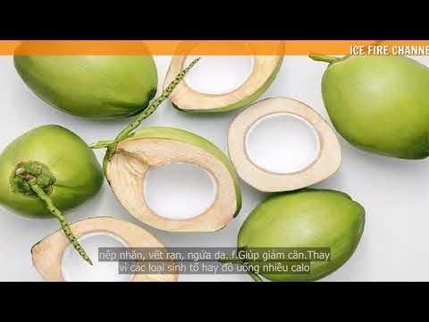 Uống nước Dừa có công dụng gì ? Lưu ý khi uống nước Dừa