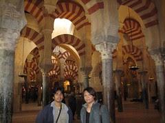 Dalam Mezquita, Cordoba, Spain
