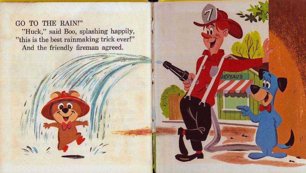 Huckleberry Hound the Rainmaker016