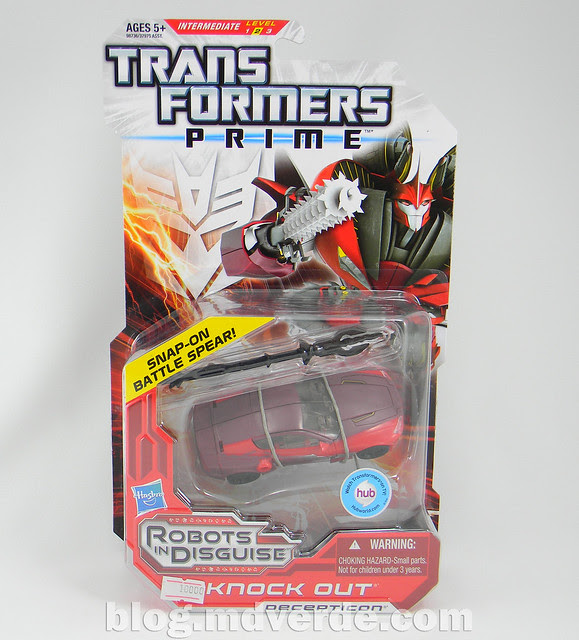 Transformers Knock Out Deluxe - Prime RID - caja
