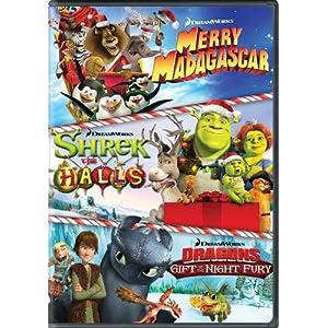 Dreamworks Holiday Classics (Merry Madagascar / Shrek the Halls / Gift of the Night Fury)