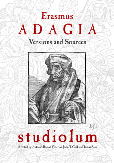 Erasmus: Adagia. CD edition by Studiolum
