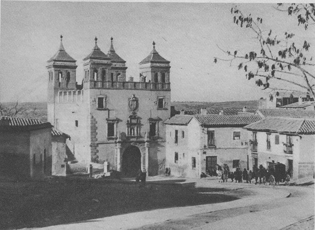 Puerta del Cambrón a principios del siglo XX