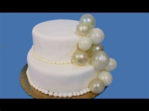 How to make gelatin bubbles for wedding cakes   Cake