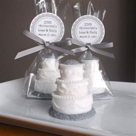 25th Anniversary Favors, 25th Anniversary Party, 25th