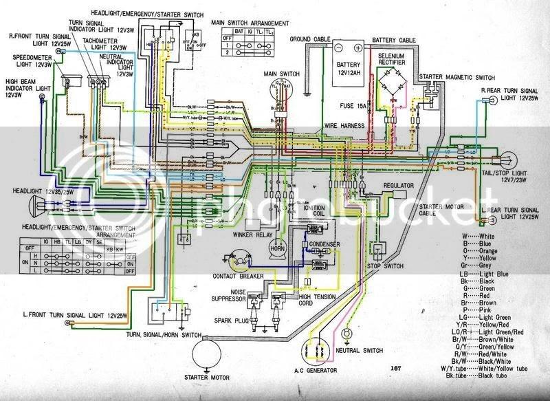 5 Schema Electrique Honda Cb 450