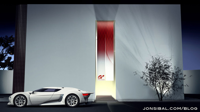 Gran Turismo 5 Citroen Gt Race Car. The car is the result of a