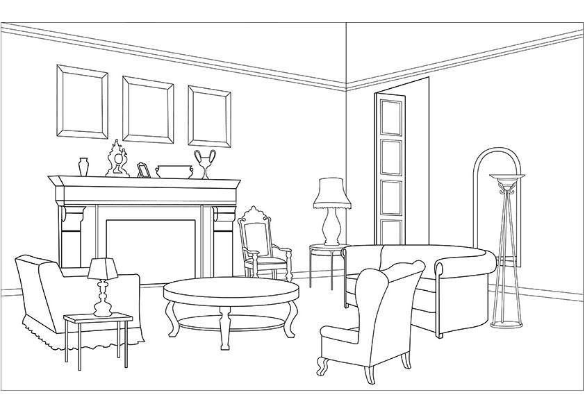 Living Room Clipart Clip Art Library