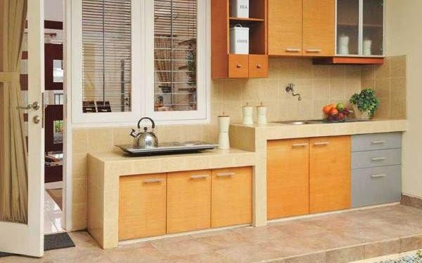 Dekorasi Desain Dapur Outdoor Sederhana Terbaru