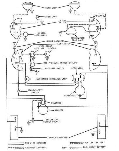 12 Volt John Deere Wiring Diagram