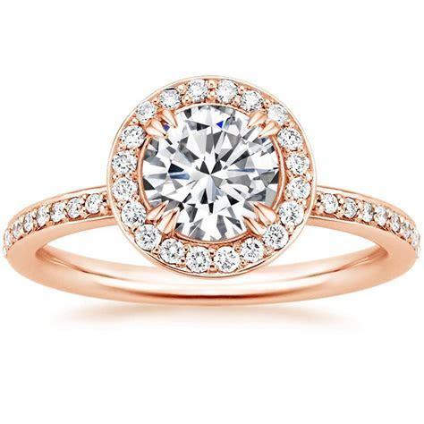 14K Rose Gold Adore Diamond Ring
