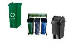 Canecas vaiven para un reciclaje eficiente