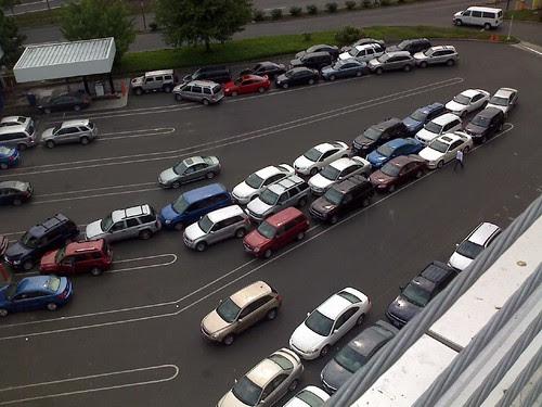 Rental car back-up
