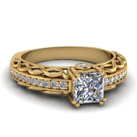 Shop For Vintage Yellow Gold Wedding Bands And Rings