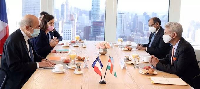 Macron dials Modi as French US, Oz ties plunge into crisis
