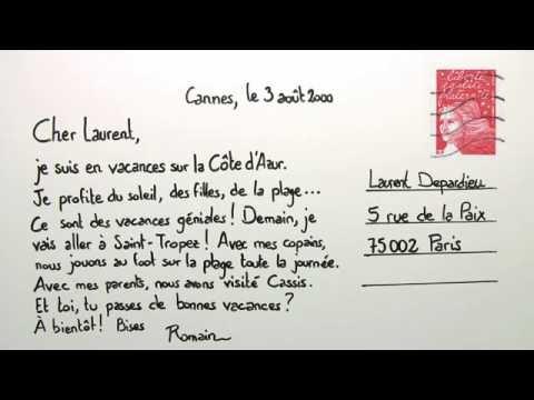 Wie Schreibt Man Einen Brief In Franz Isch - Wie Man