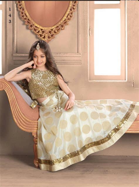 indian wear girls kids lengha choli designer fancy