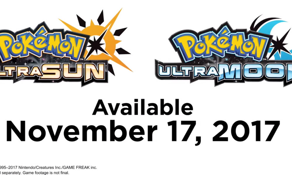 Pokemon UltraSun and UltraMoon coming this year, take place in 'alternate' universes screenshot
