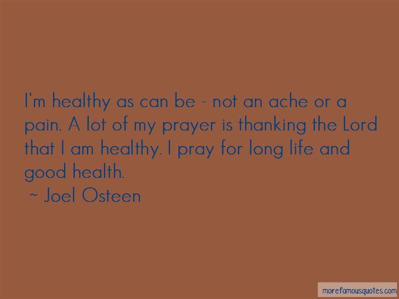 Quotes About Life And Good Health Top 39 Life And Good Health
