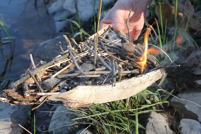 river burial